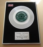 CHUBBY CHECKER - THE FLY PLATINUM Single Presentation DISC